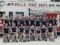 Pella firefighters
